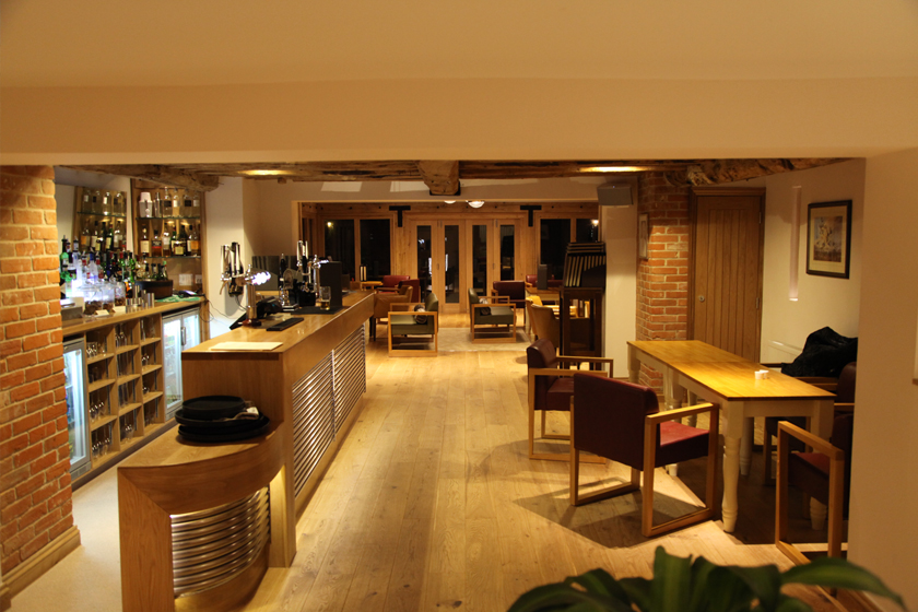 Open layout function room in Suffolk