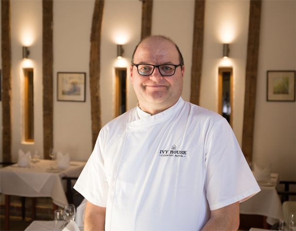 Michelin Star trained Head Chef Keith Patron