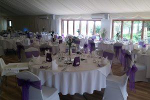 Bright indoor wedding venue in Suffolk