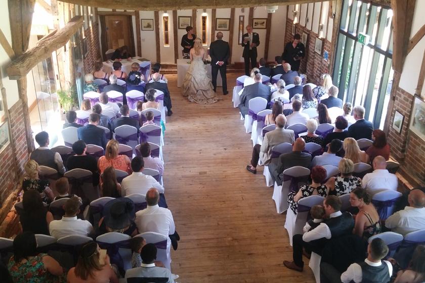 Wedding Ceremony - Wedding Venue in Lowestoft, Suffolk