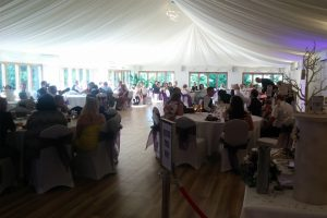 Guests enjoying a wedding at our venue in Lowestoft