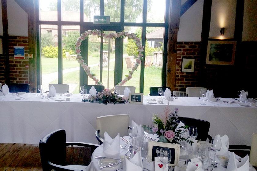 Wedding Decor - Wedding Venue in Lowestoft, Suffolk