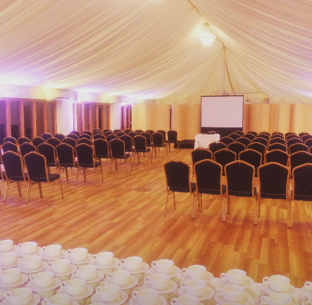 Ivy Hall - Image of this spacious functions room with chair set theatre style