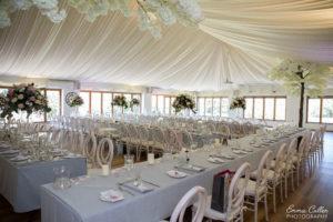 Wedding Venue Reception Area in Lowestoft, Suffolk