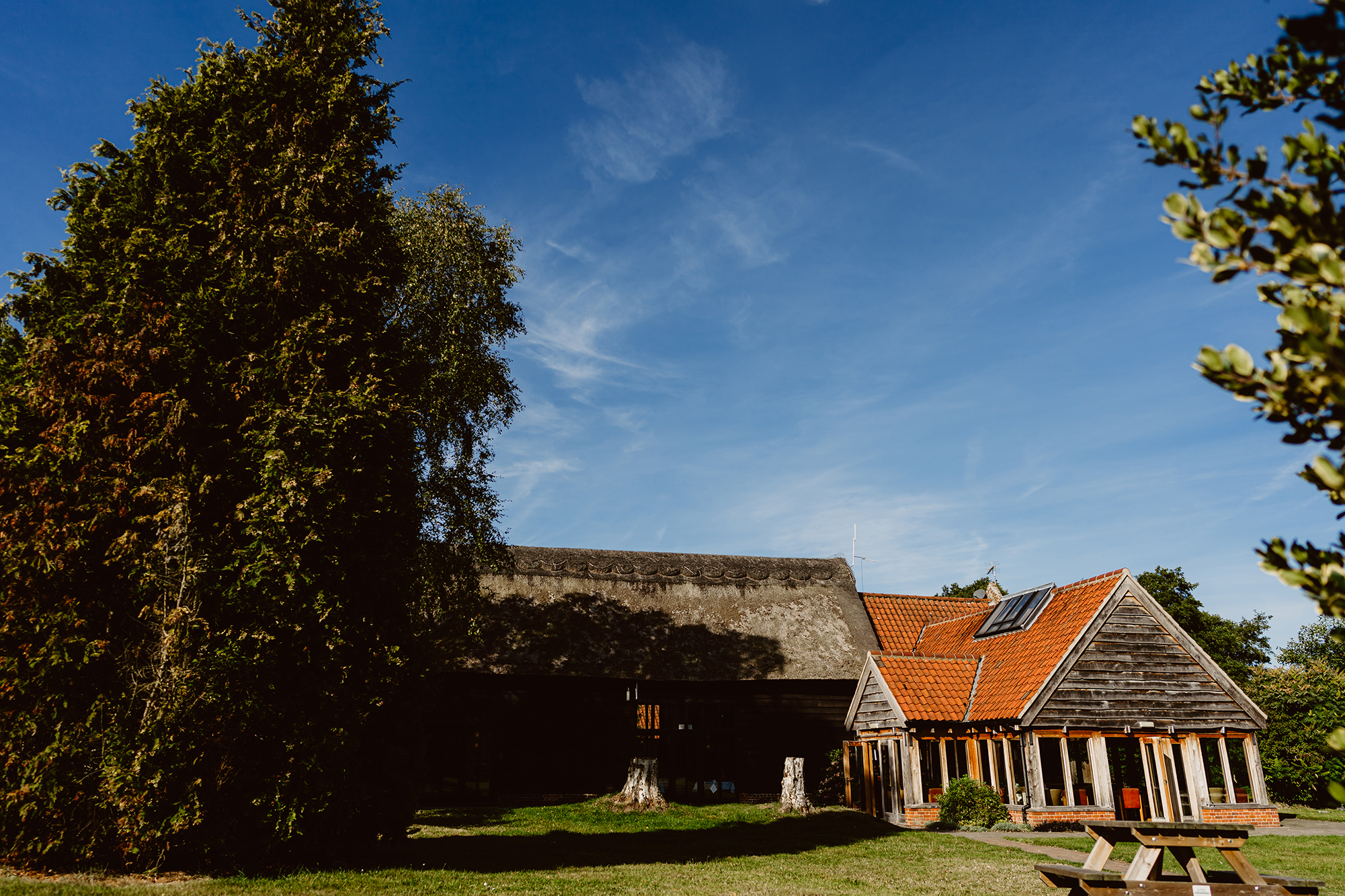 The Ivy House Country Hotel's Outdoor Wedding Venue