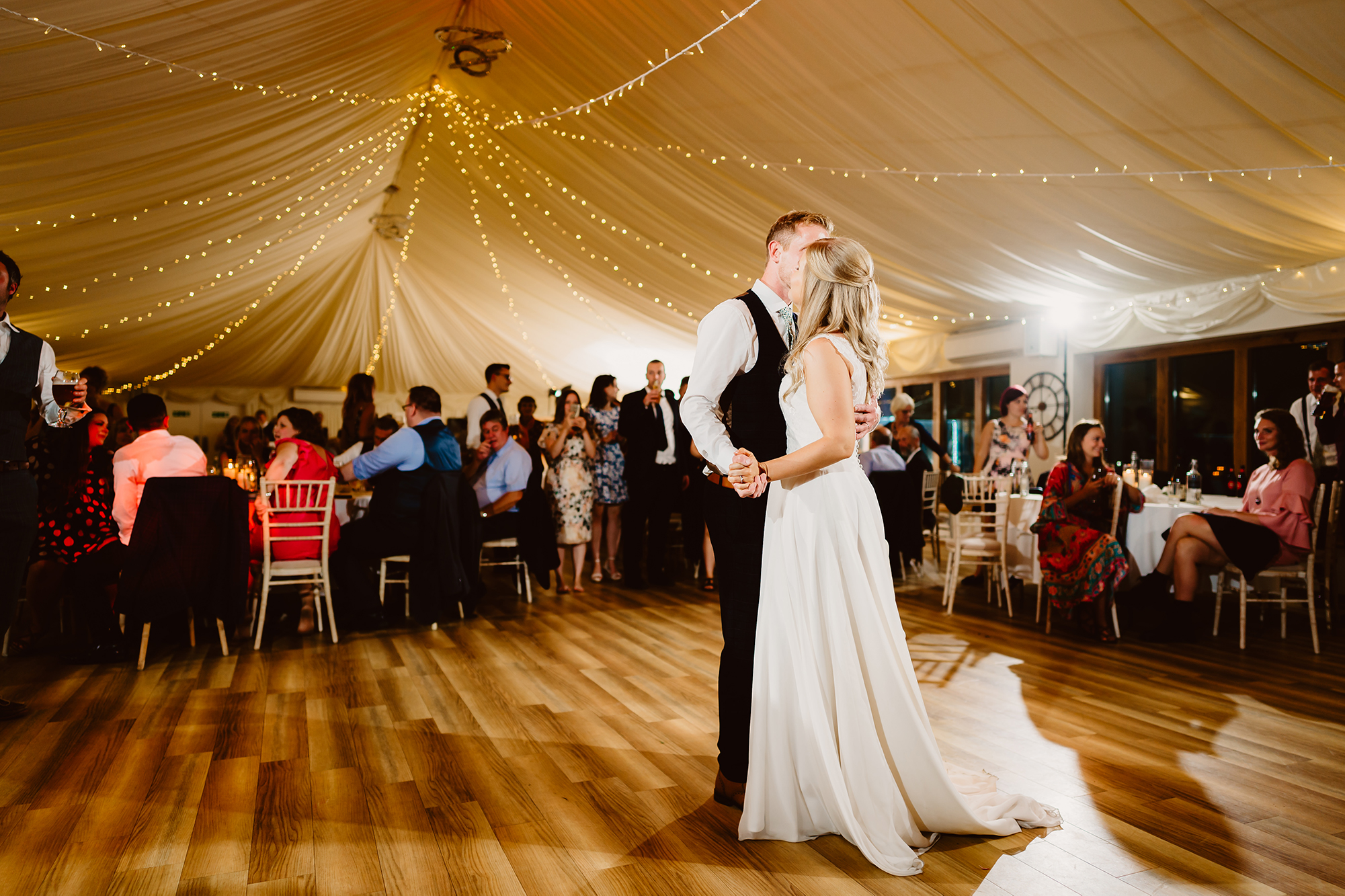 Bride and Groom First Dance at Ivy House Country Hotel